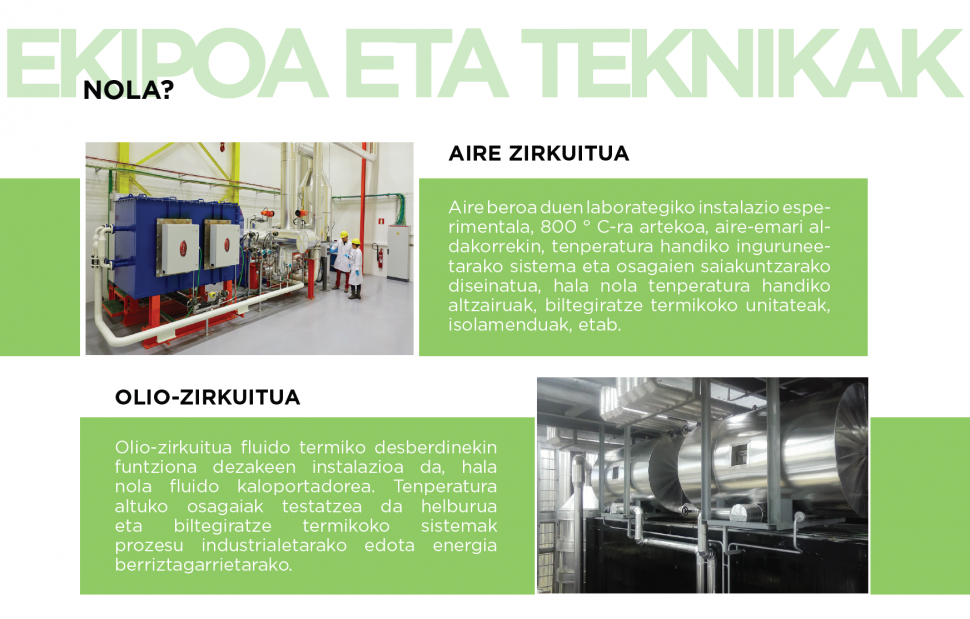 Prototipatze eta testaketa termikoaren laborategia