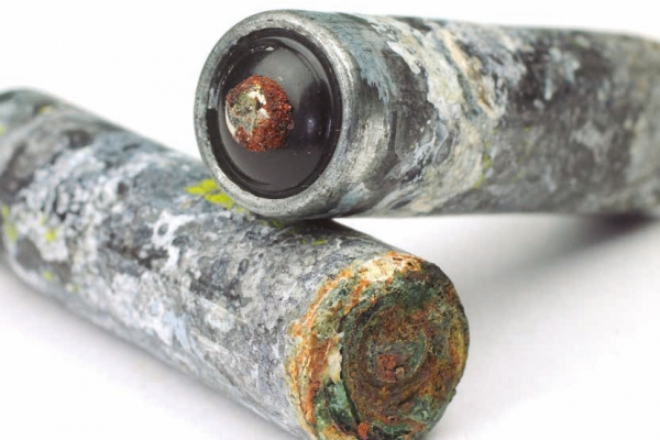 Corrosion of batteries and capacitors