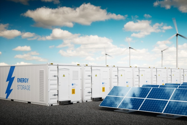 Development of macro batteries for the integration of renewable energies