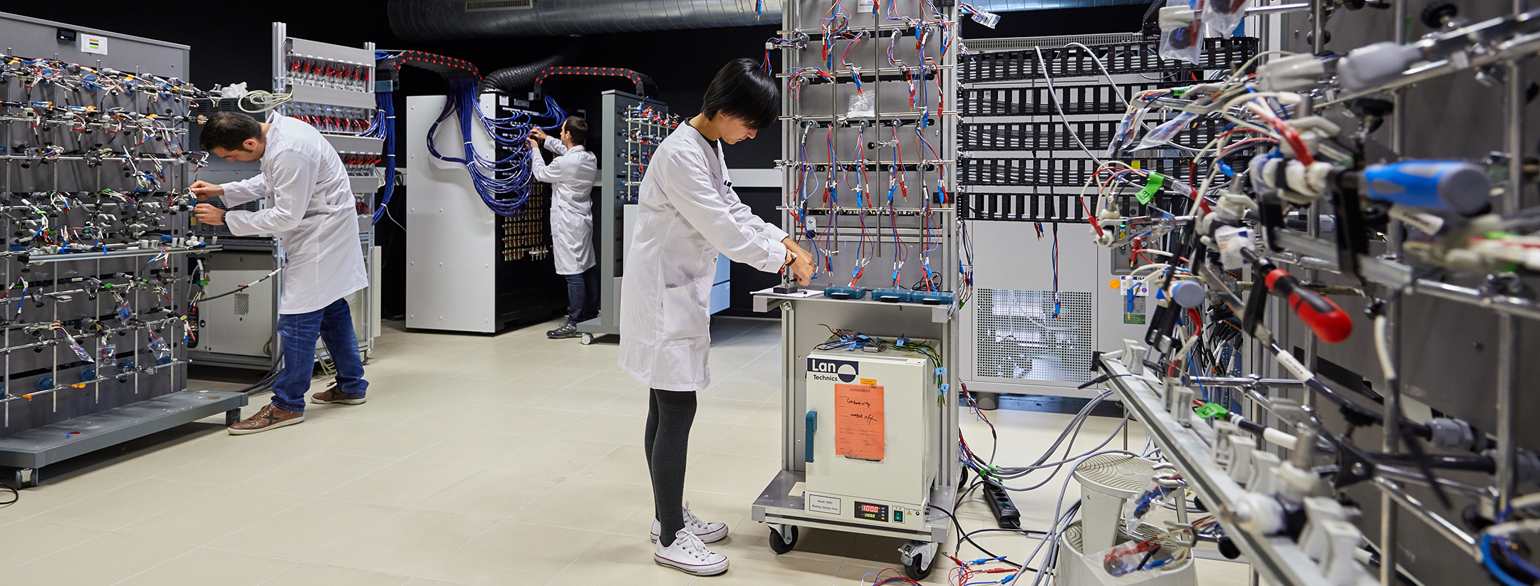 Electrochemical Testing laboratory for batteries and supercapacitors