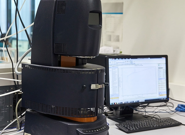 DISCOVERY HYBRID RHEOMETER (DHR 1) FROM TA INSTRUMENTS