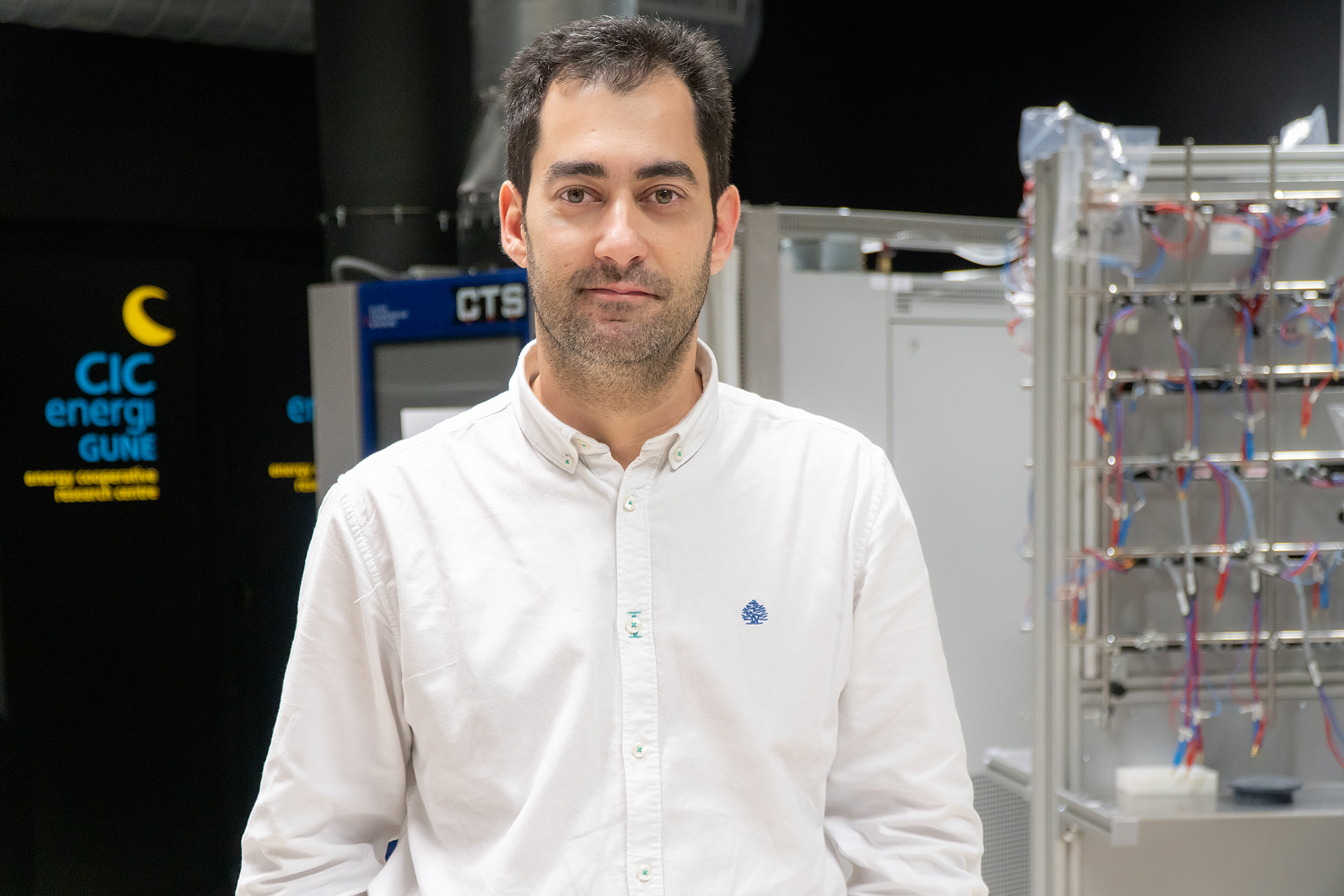 Daniel Carriazo, CIC energiGUNE´s researcher