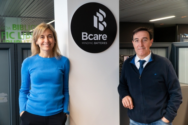 BCARE consolidates its position as a baseline start-up in energy storage in the presence of the automotive industry gathered at AIC Next