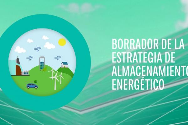 Abierta a consulta pública el borrador de Estrategia de Almacenamiento Energético