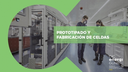 Prototyping and cell manufacturing service catalogue