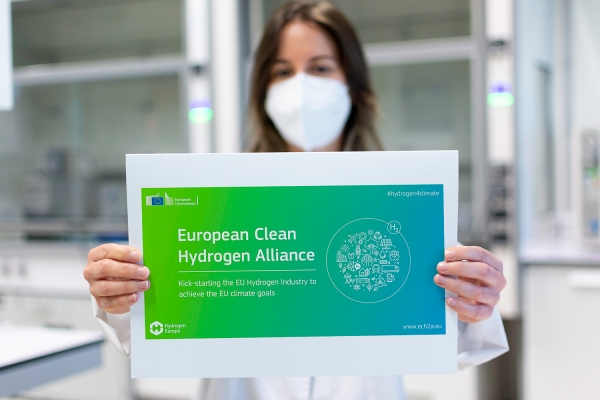 CIC energiGUNE incorporates into the European Alliance that will promote Hydrogen as the key element for energy transition and decarbonization
