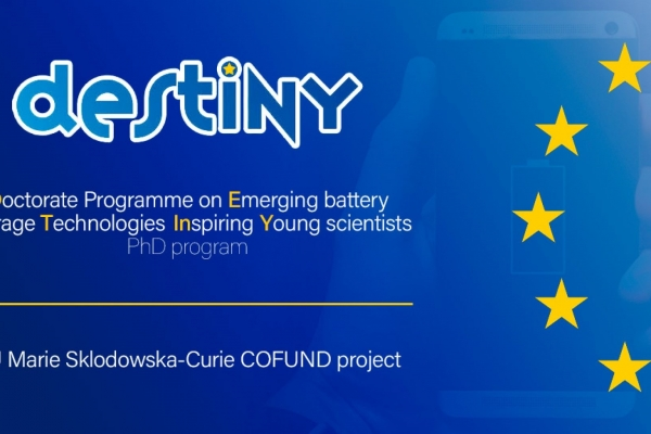 CIC energiGUNE offers three DESTINY PhD grants at the forefront of battery research