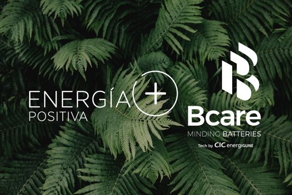 "BCARE selected by the ""Positive Energy+"" platform to develop its proposal for the digitalization of battery-based storage systems"