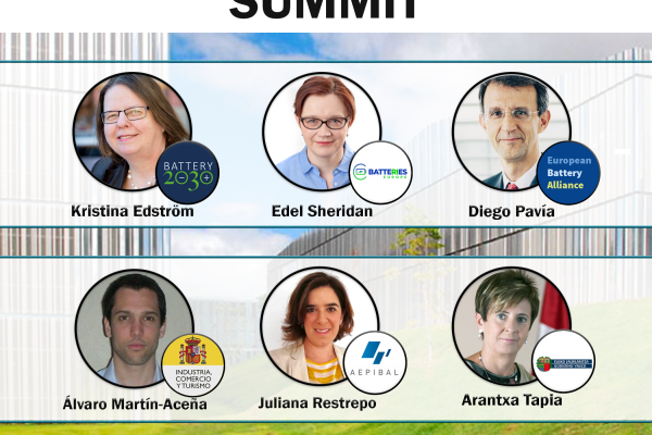 CIC energiGUNE will organise on 12 September in Vitoria-Gasteiz the summit meeting of the European ecosystem that will lead the battery revolution