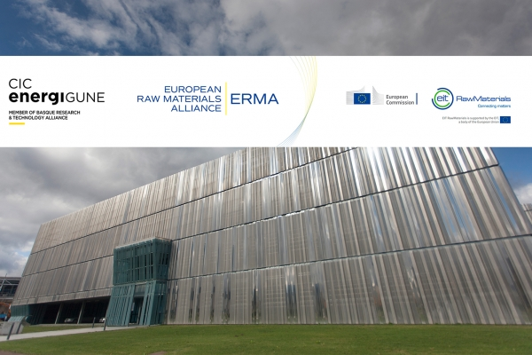 CIC energiGUNE joins the new European Raw Materials Alliance, created to reduce the external dependency of the EU in this area