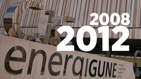 Memoria de actividad 2008-2012