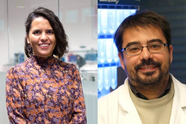 La Real Sociedad Española de Química concede el premio Joven Investigador 2021 a Montse Casas Cabanas, de CIC energiGUNE, y a Gonzalo Jiménez Osés, de CIC bioGUNE