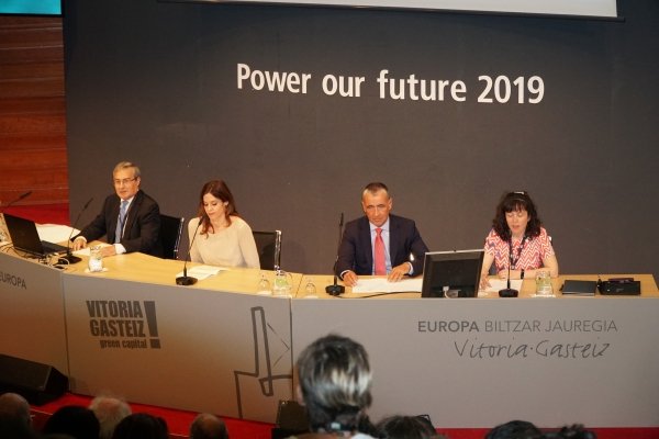 "Vitoria-Gasteiz hosts the 4th International Forum on energy storage under the title ""Power Our Future"""