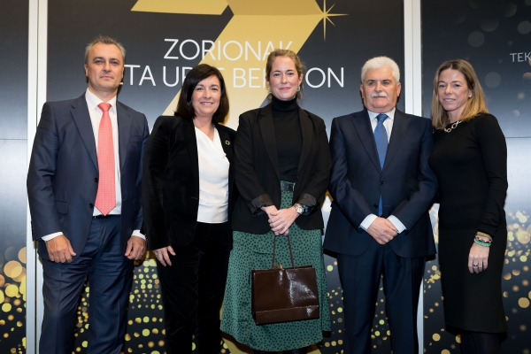 Begoña Ortiz de Latierro recognised by the Álava Technology Park for her professional career