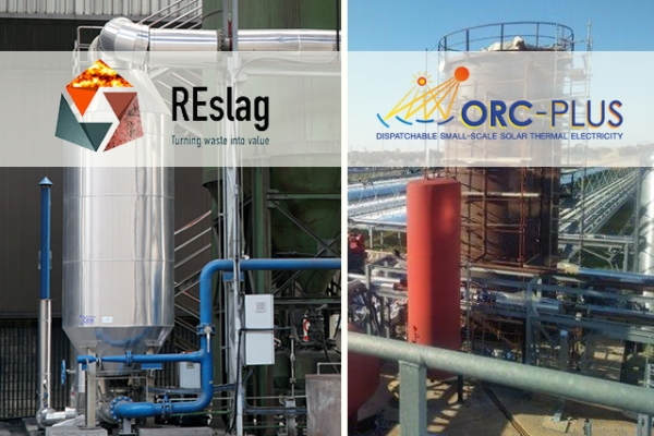 Thermal storage systems, our demonstrators