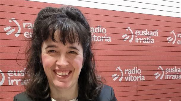 Nuria Gisbert, CIC energiGUNE-ren zuzendari nagusia