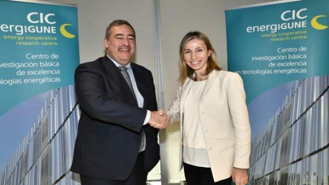 Pilar González presidenta CIC energiGUNE