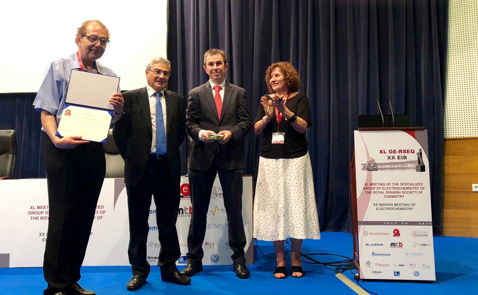 Premio CIC energiGUNE RSEQ