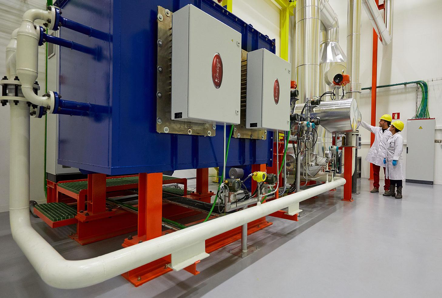 Almacenamiento de energía térmica